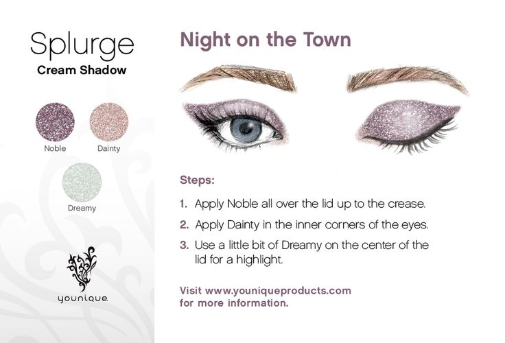 Need a little glam? Give this stunning look a try.
