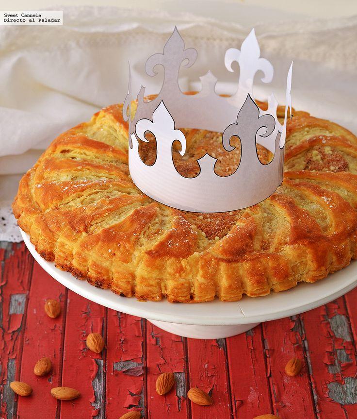 Aprende a preparar una Galette de Rois, la Rosca de Reyes francesa. Con fotos del paso a paso y consejos de degustación