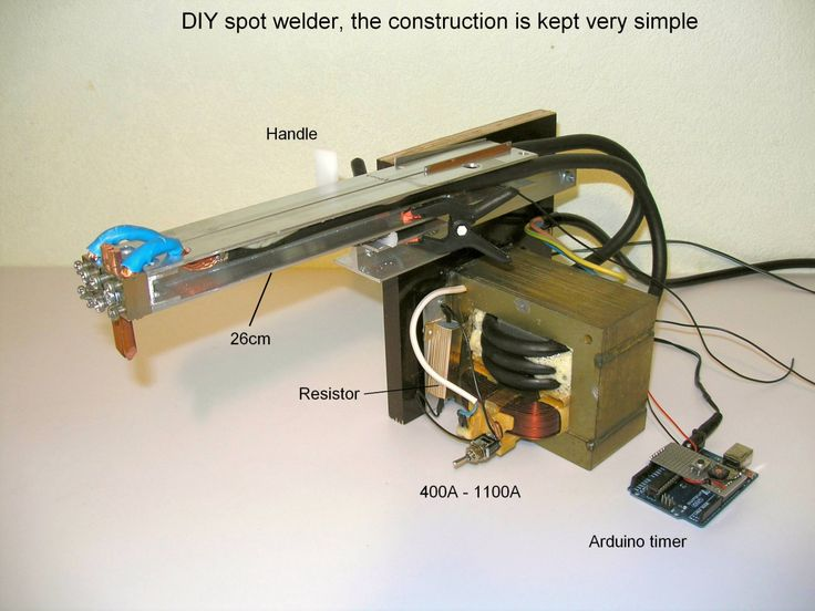 17 best ideas about microwave transformer a professional spot welder made out of a microwave transformer