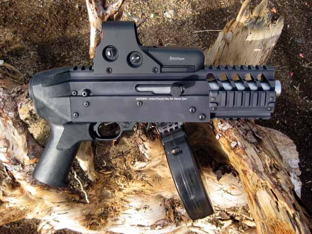 Ruger 10/22 .22LR pistol by Zimmerman Arms