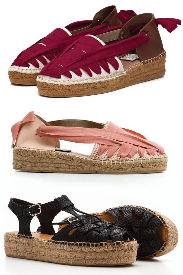 Espadrilles/sandalias estilo alpargata