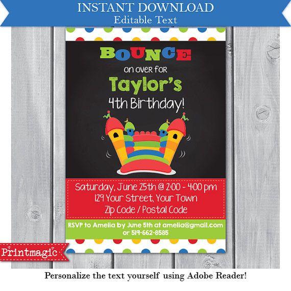 Best 25 Bounce house birthday ideas on Pinterest Zoo animal