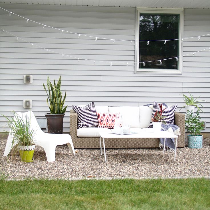 How To Make A DIY Pea Gravel Patio