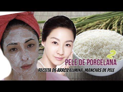 PELE DE PORCELANA RECEITA DE ARROZ QUE ELIMINA MANCHAS de pele - YouTube