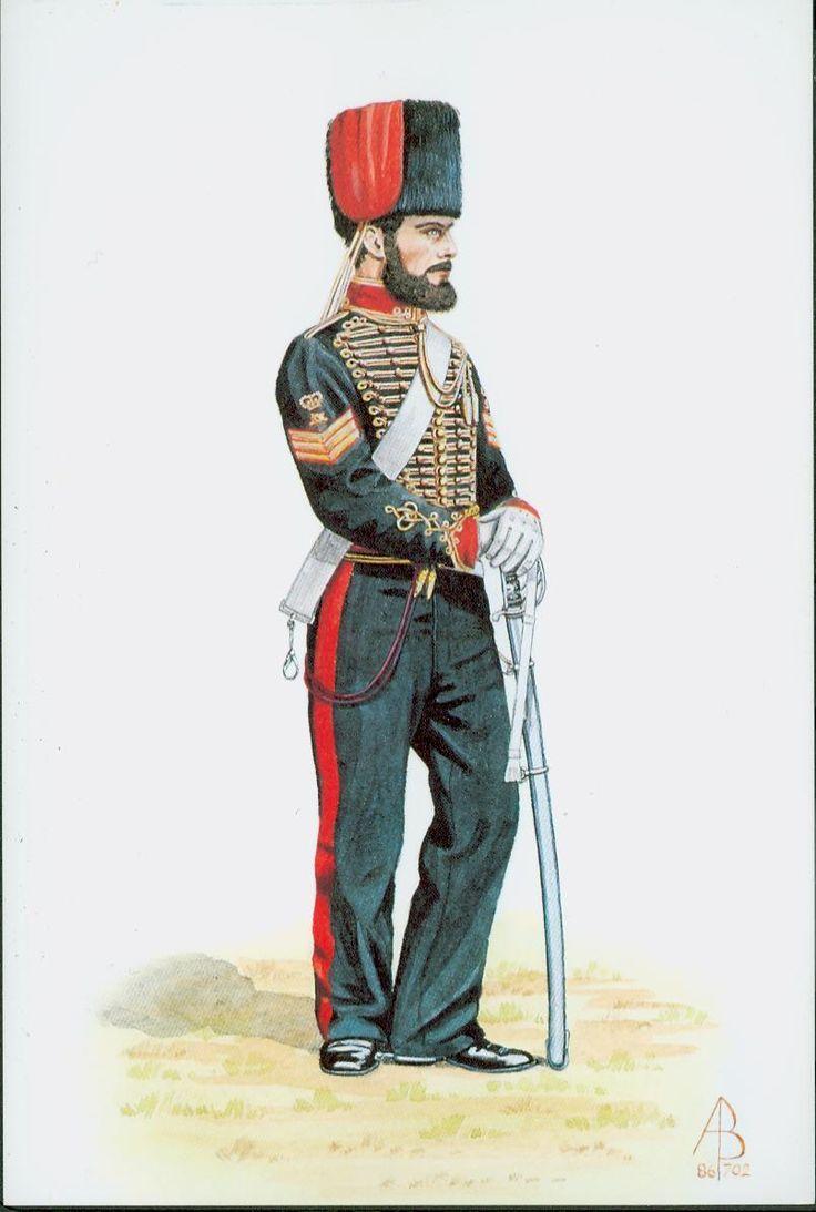 British; Royal Horse Artillery, Sergeant, Crimea, 1854