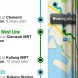 View bigger - NextRide - Singapore Public Transport Journey Planner for iPhone screenshot