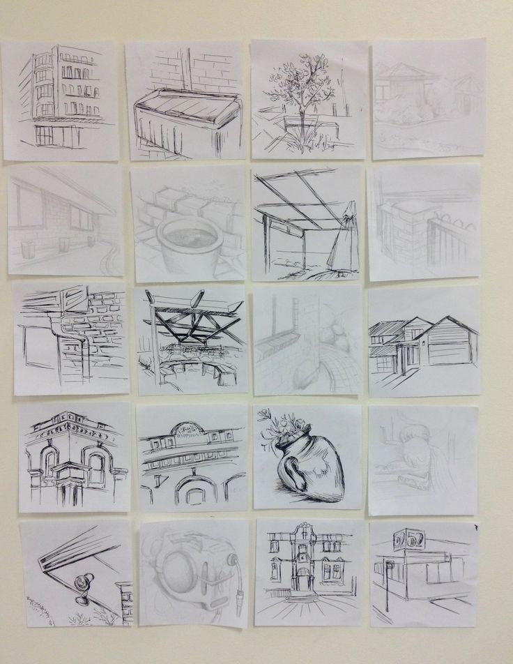 Task 1 - exterior spaces