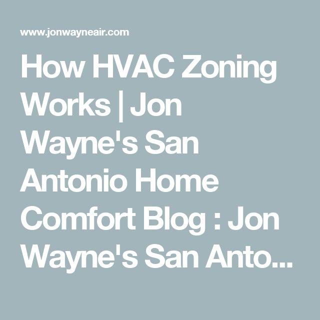How HVAC Zoning Works | Jon Wayne's San Antonio Home Comfort Blog : Jon Wayne's San Antonio  Home Comfort Blog