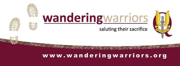 Wandering Warriors - Bumper Sticker design