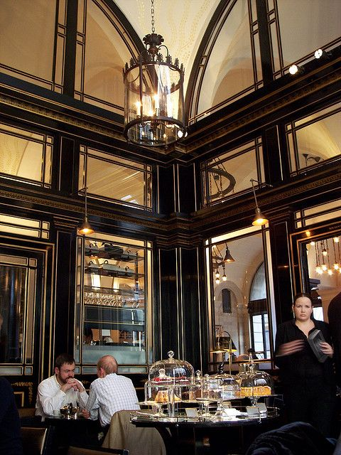 The Wolseley, London. Most posh brunch ever.