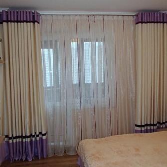 Сиреневые шторы: идеи с фото для кухни, спальни и гостиной