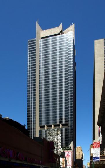 One Astor Plaza. NYC - 745ft.
