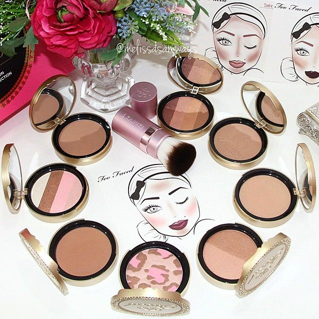 Too Faced Bronzer Collection! #toofaced