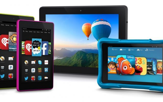 Amazon Kindle Fire, presentata la nuova famiglia di device del colosso americano