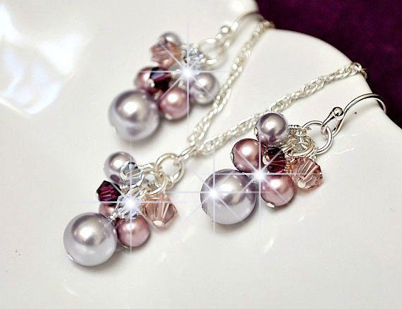 Bridesmaid Jewelry Set Pearl Bridesmaid Jewellery Set