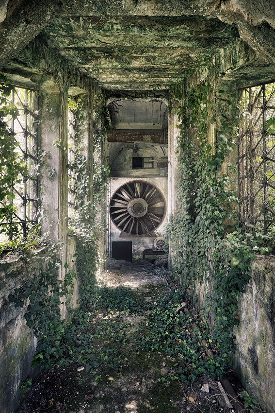 the end of power by Sven Fennema, via 500px #abandoned #power #plant