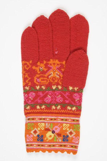 Estonian knitted glove  (Eesti muuseumide veebivärav)/Muhu