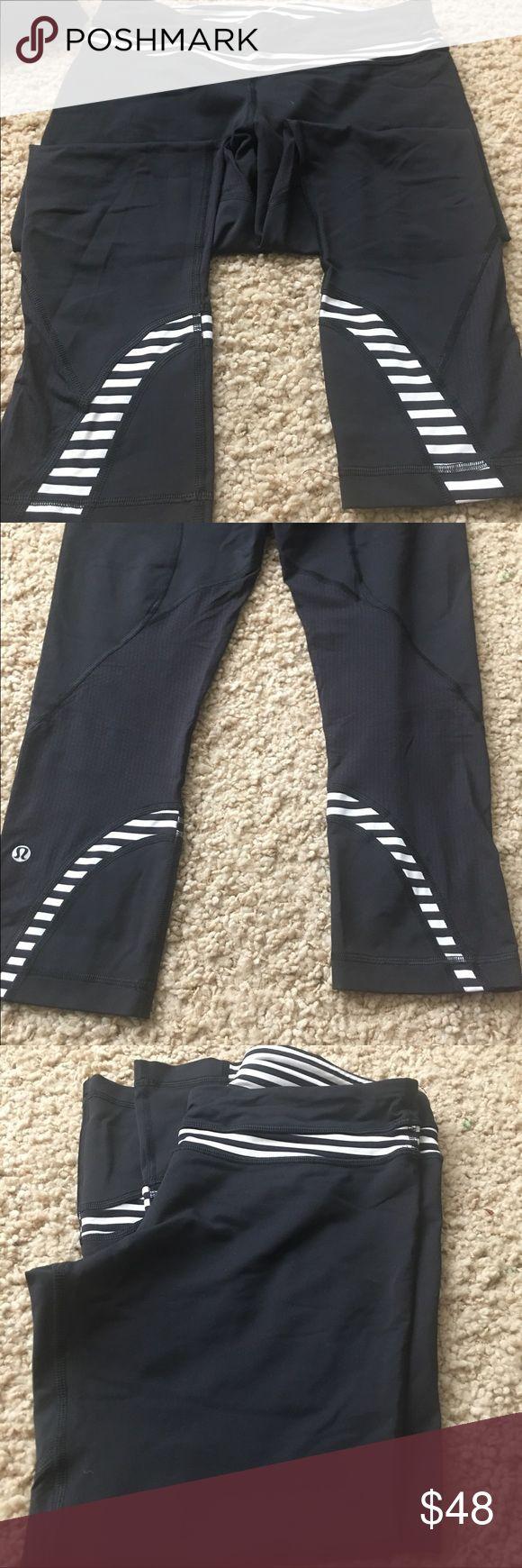 Lulu pants Lulu pants as is!  No tears rips!  Picture is true to condition. Run inspire pants lululemon athletica Pants Leggings
