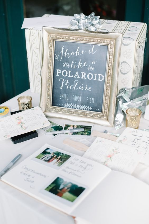 Wedding Poloroids | Poloroid Guest Book | Unique Guest Book Ideas | Creative Weddings