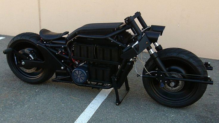 Batman's electric motorcycle on eBay!