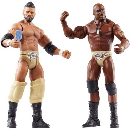 WWE 2-Pack Darren Young and Titus O'Neill Figures, Multicolor
