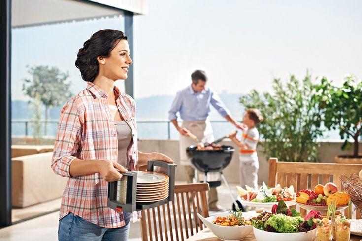 Blum bordenhouders Orgalux - Product in beeld - Startpagina voor keuken ideeën | UW-keuken.nl