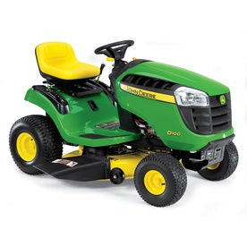 John Deere D100 17.5 HP Single Cylinder Manual 42-in Riding Lawn Mower