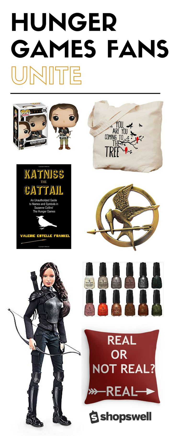 Have a thing for Katniss and Peeta? We get it! Here are 12 Hunger Games gifts fans can't get enough of.
