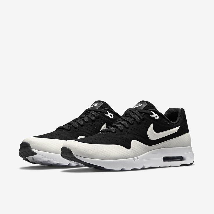 Nike Air Max 1 Premium Chemins De Fer Anthracite Noir / Gris De
