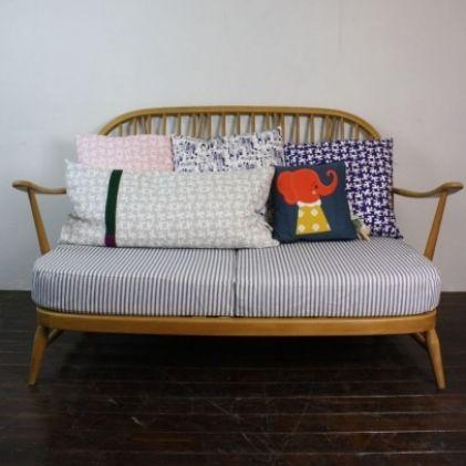 Vintage Ercol Windsor 2 seater sofa