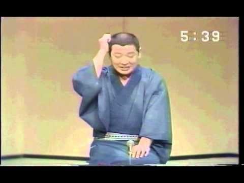 1988年おはよう名人会にてリピート放送 古今亭志ん朝「引越しの夢」