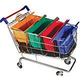 Amazon.com: Zelancio Shopping Sherpa Reusable Grocery Bag Trolley Bag Set with Insulated Bag for Frozen Goods: Kitchen & Dining