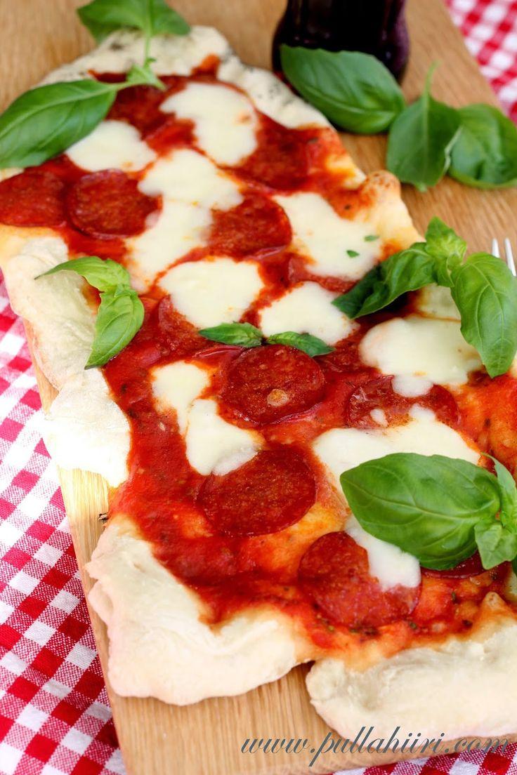 Pullahiiren leivontanurkka: Grillipizzaa - Pizzaa grillistä