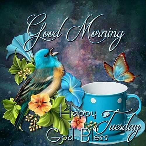 Good Morning, Happy Tuesday, God Bless