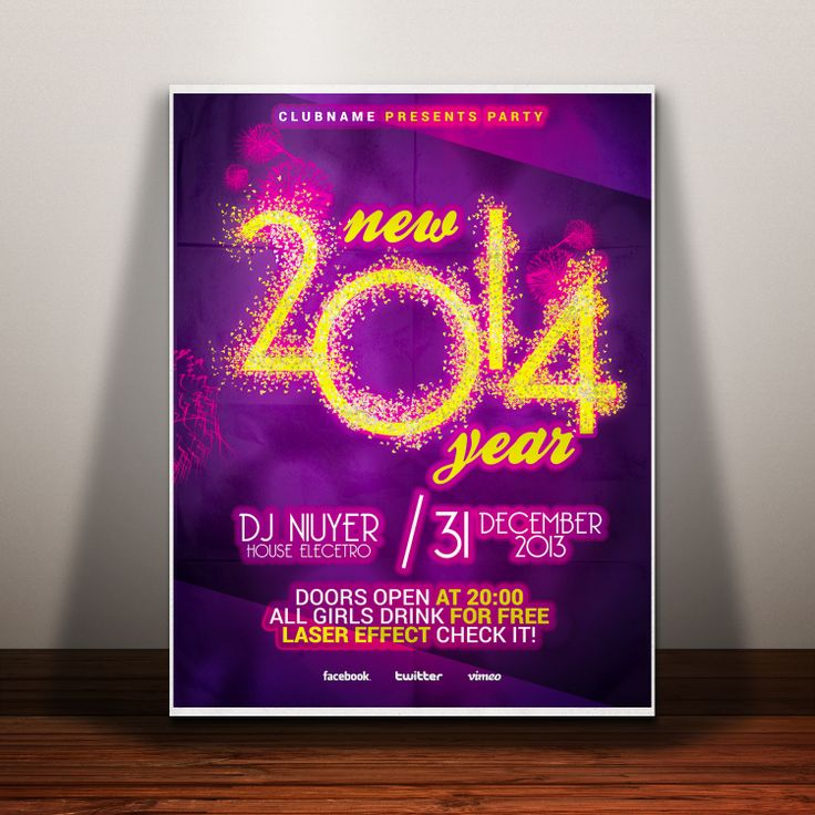 endriu1516: give you the BEST Christmas or New Years Flyer for $5, on fiverr.com
