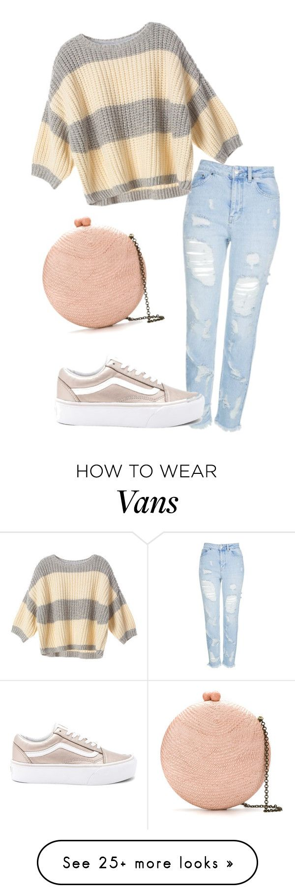 """Casual chic"" by annas02 on Polyvore featuring Topshop, Vans, Serpui and Victoria's Secret"