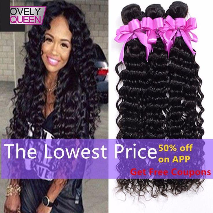 Peruvian Virgin Hair Deep Curly 3Bundles 100%Unprocessed http://mobwizard.com/product/7a-peruvian-virgin/