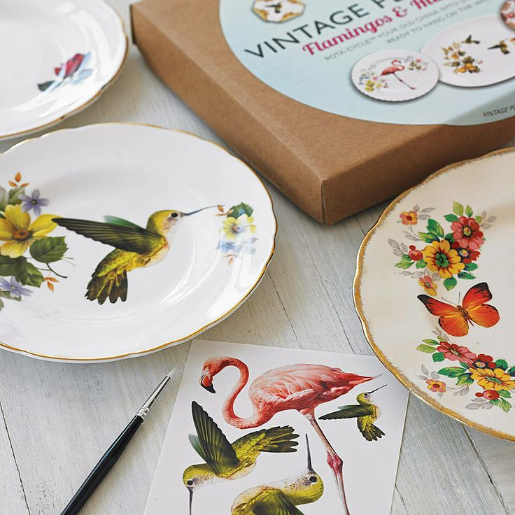 1000 images about crafts kits on pinterest art for Craft ideas for old dishes