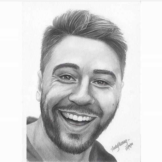Pencil drawing of Shaun Johnson #pencil #drawing #shaunjohnson #warriorsforever #art #smile #WarriorsArt Artist: @Andystory