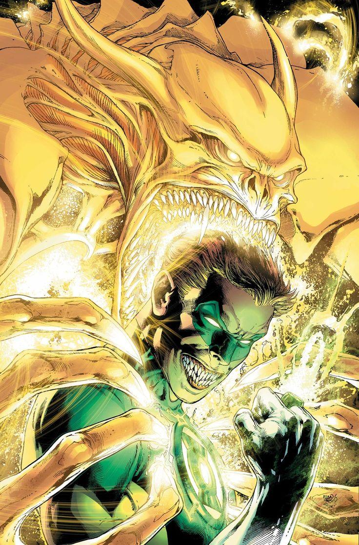 Green Lantern #35 by Ivan Reis, colors by Alex Sinclair *