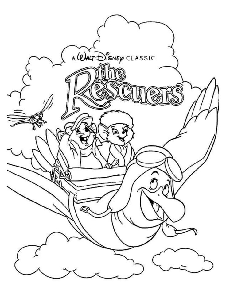 32 Best Disney The Rescuers Images On Pinterest