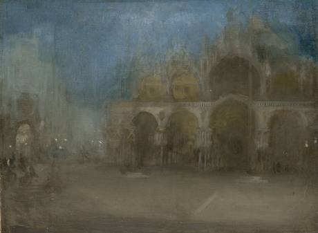 Nocturne: Blue and Gold, St Mark's Venice, 1879-80, James McNeill Whistler (National Museum Wales, Cardiff)