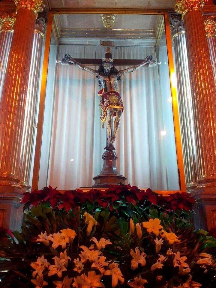 """""""Señor Grande"""" de Ameca Jalisco, Mexico. Parroquia de Santo Santiago Apostol"""