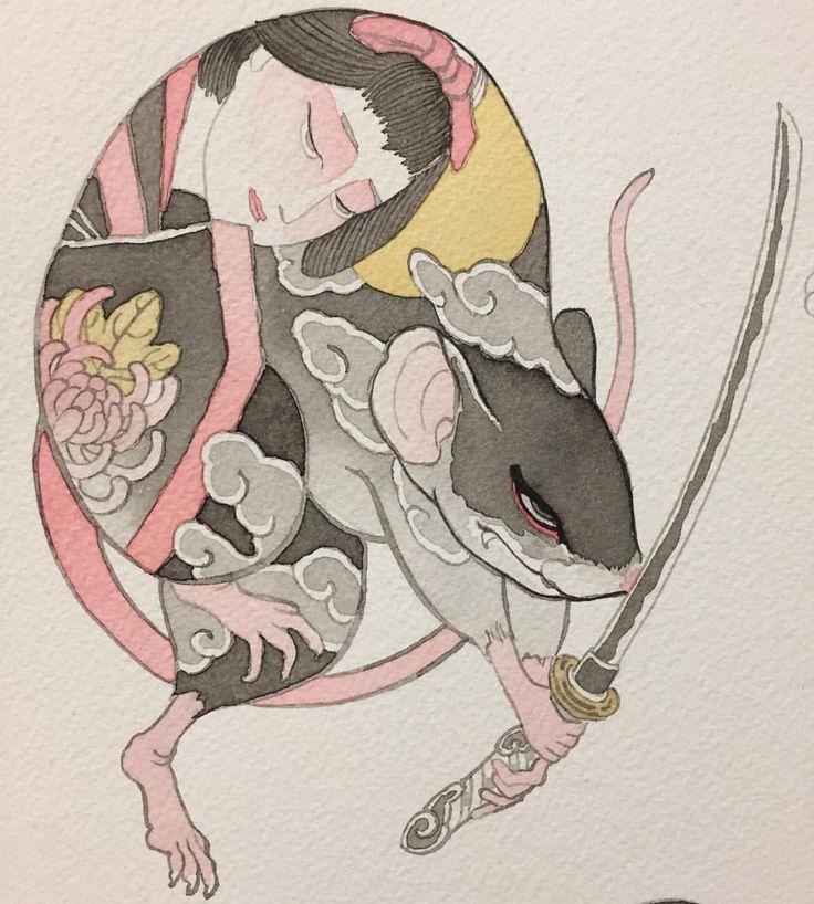 вредители мышка японская картинка двадцать минут