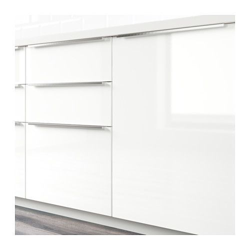 RINGHULT Porte - brillant blanc, 60x80 cm - IKEA