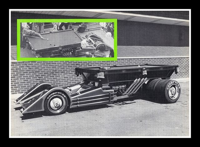 """Hustler"" Show Car, 1977, via Flickr."