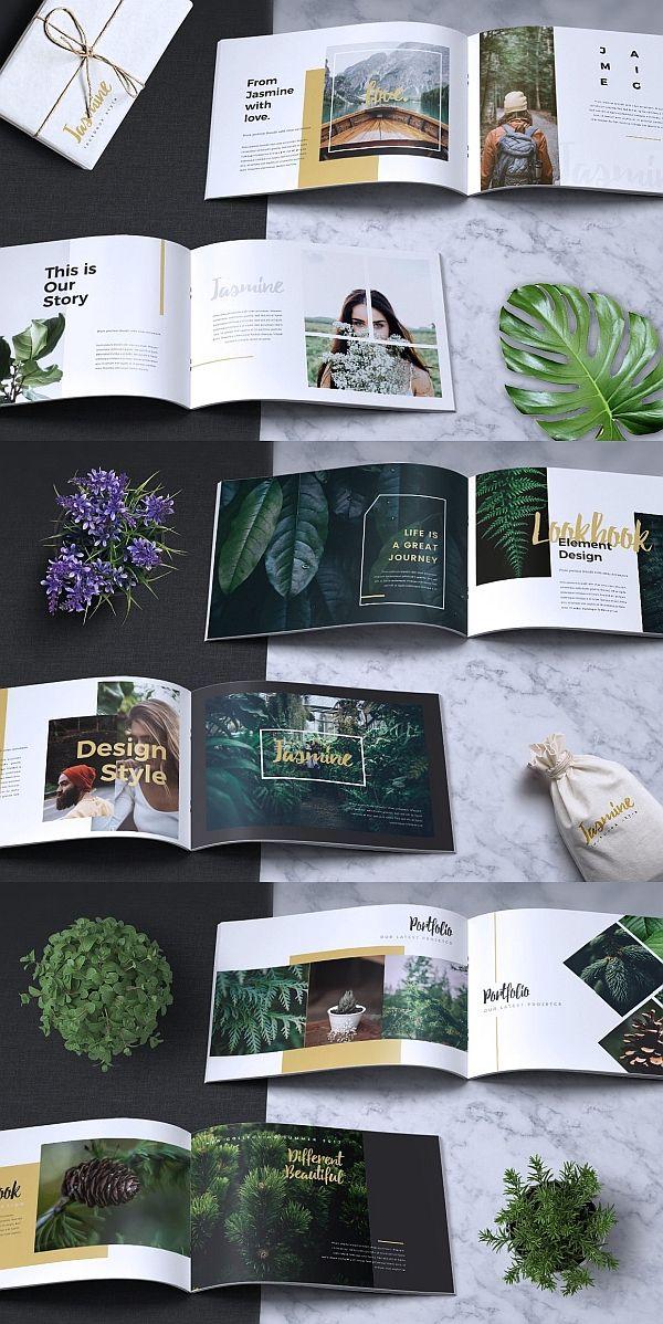 JASMINE- Lookbook Brochure Catalogue