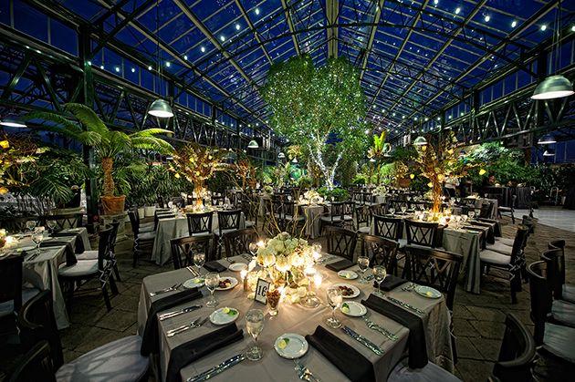 Winter Wedding Venue Planterra Conservatory