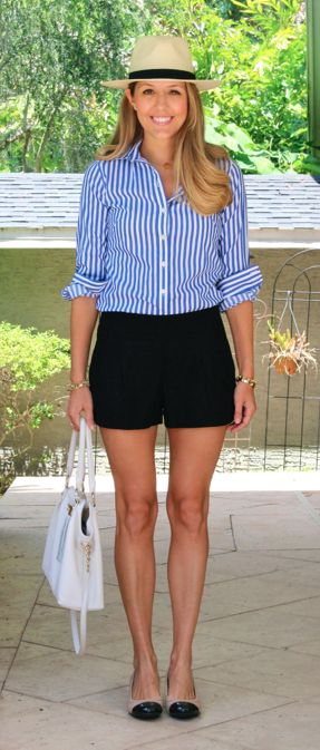 Top 25  best Black shorts outfit ideas on Pinterest   Shorts ...