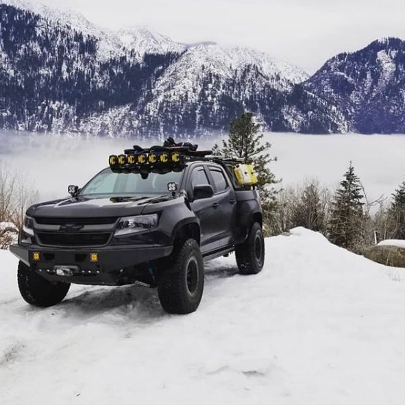 Overland Winter Mountains Colorado Chevycolorado Offroad Zr2